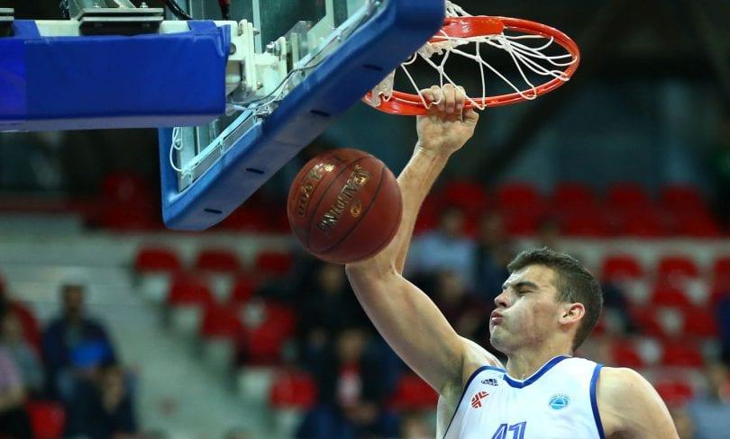 18.11.2015., Zagreb -  4. kola FIBA EURO CUP KK Cibona – KK Lisboa Benfica. Ante Zizic. Photo: Slavko Midzor/PIXSELL