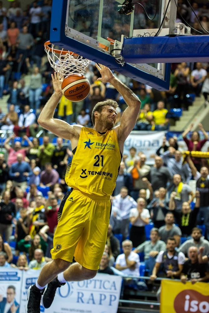 Tim Abromaitis (Iberostar Tenerife) Foto: BCL