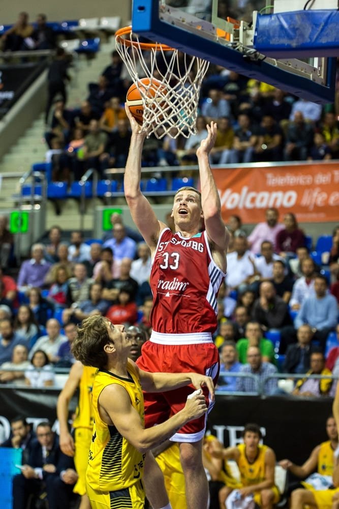 Erik Murphy (SIG Strasbourg) Foto: BCL