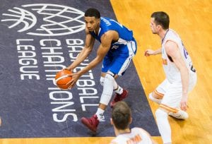 Kwame Vaughn (Fraport Skyliners). Foto: BCL