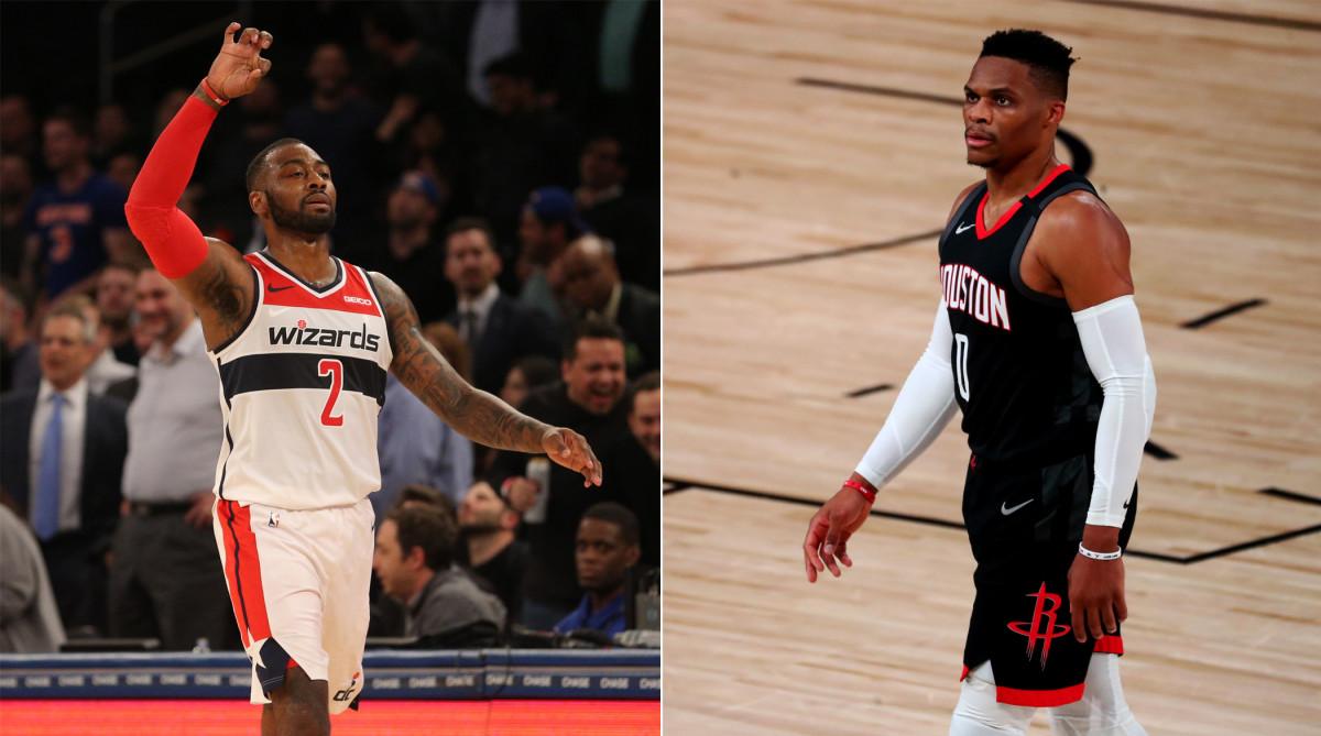 Russell Westbrook es cambiado a Wizards por John Wall — NBA