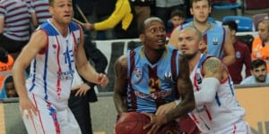 Tarence Kinsey (Trabzonspor) Foto: Eurocup