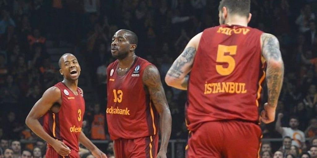 Errick McCollum (Galatasaray) Foto: Eurocup