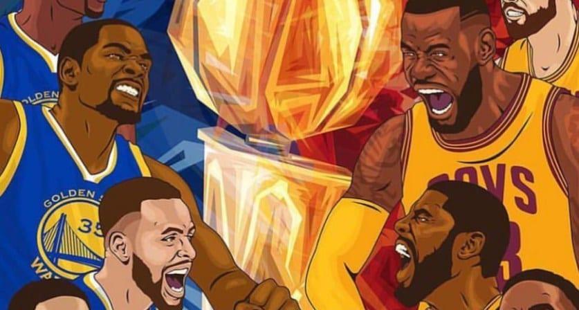 Horarios y fechas para las finales de la NBA  Warriors – Cavaliers -  Piratas del Basket 7d16452e287