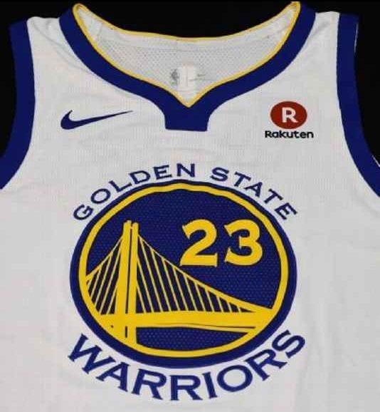 rakuten nuevo patrocinador de los golden state warriors piratas del basket. Black Bedroom Furniture Sets. Home Design Ideas
