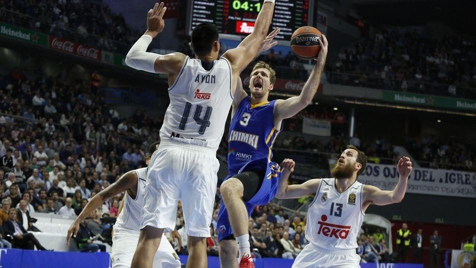 Resultado de imagen de R. Madrid 80  Khimki 88