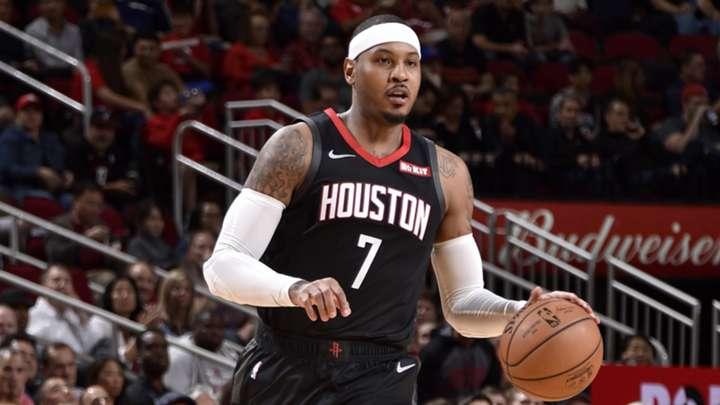 Carmelo Anthony se va de los Rockets y busca equipo